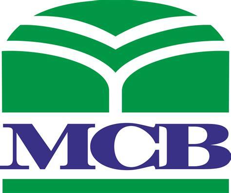 mcb bank banking mcb logo banks and finance logonoid