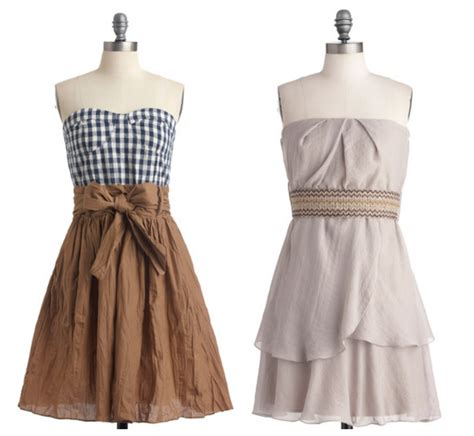 Country Dress vintage bridesmaid dresses rustic wedding chic