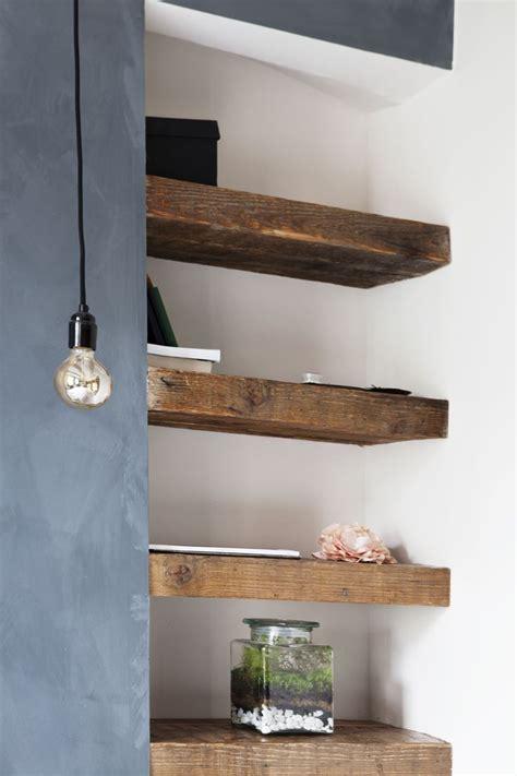 Wooden Bathroom Shelving Best 25 Reclaimed Wood Shelves Ideas On Pinterest Floating Shelves Diy Wood Shelves And