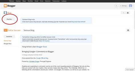 cara membuat blog gratis selain blogspot cara membuat blog gratis blogger com notordinaryblogger