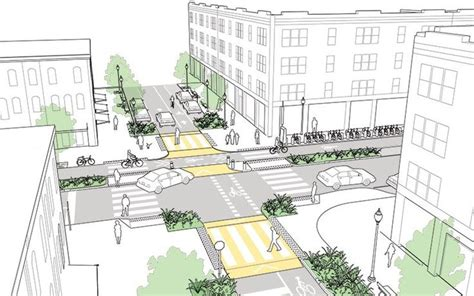 design guidelines ottawa intersections of major and minor streets explained and