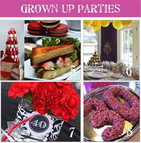party themes young adults 17 best images about 40th birthday party ideas on