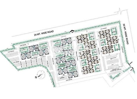 Layout Plan Of Ansal Api Lucknow | ansal basera enclave in sushant golf city lucknow price