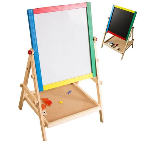 Papan Tulis Anak Papan Tulis Magnet Drawing Board Mainan Eduka papan perancah kayu promotion shop for promotional papan