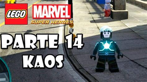 lego marvel heroes gu 237 a desbloqueo de personajes parte 14 kaos