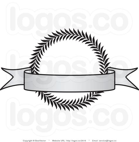 design a logo banner royalty free vintage grayscale award crest with blank