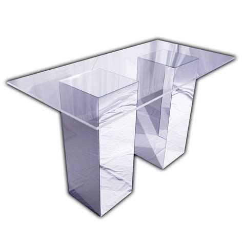 Acrylic Bar Table Custom Rentals Unique Event Elements