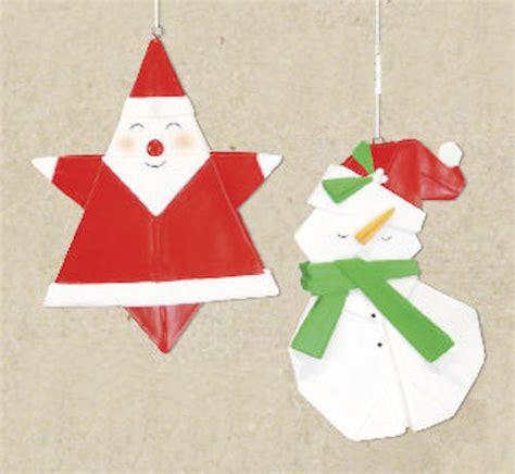 Origami Snowman - santa origami ornament snowman origami