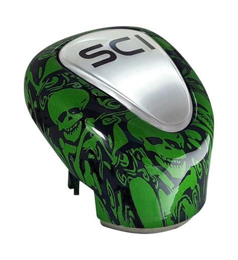 Green Skull Shift Knob by 13 15 18 Green Skull Gear Shift Knob Cover 75 Chrome Shop