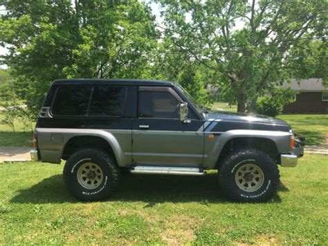 nissan safari lifted nissan other suv 1980 black gray for sale xfgiven vin