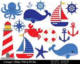 Nautical Nautical Clipart Clip Art Anchor Clipart Whale Clipart