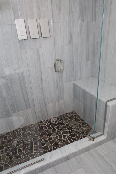 Carrara Marble Bathroom Designs by Commercial Tile Gallery Old Port Specialty Tile