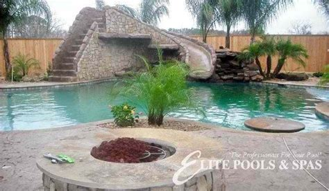 Backyard Pools League City Houston Custom Swimming Pool League City Pool Builder