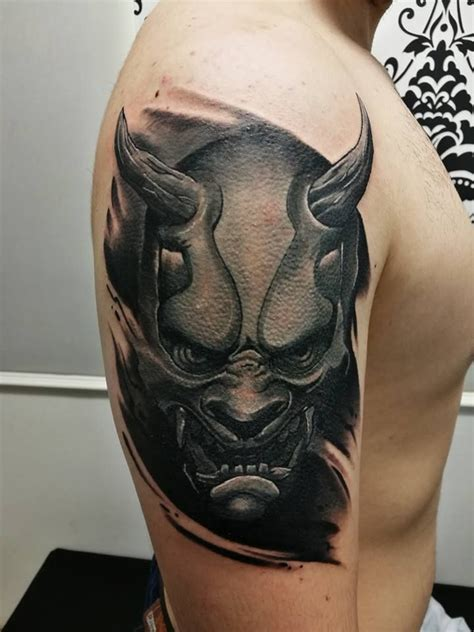 oni mask tattoo designs collection of 25 oni mask