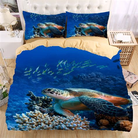 turtle comforter set sea turtle bedding promotion shop for promotional sea