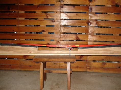 nordic ski wax bench bike path warrior about 10 homemade ski waxing bench