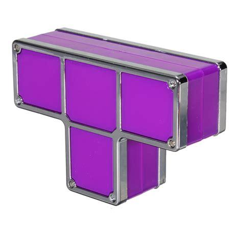 Stackable Led Desk L Tetris Diy Constructible Retro Style Stackable Led