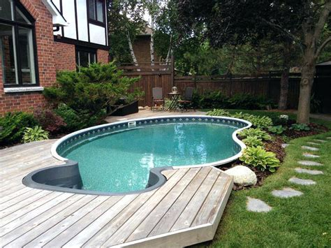 cost of backyard pool small inground pools image of inground pool design ideas