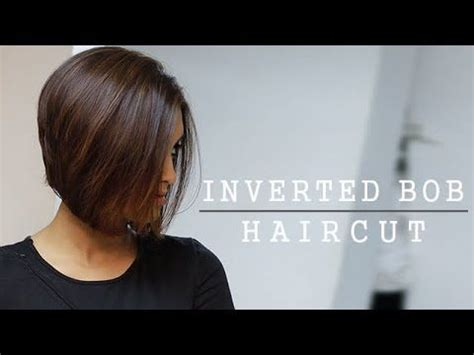 how to cut a bob step by step yourself 1000 ideas about layered inverted bob on pinterest