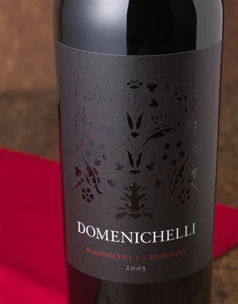 wine label design napa valley domenichelli wine domenichelli wine label package design