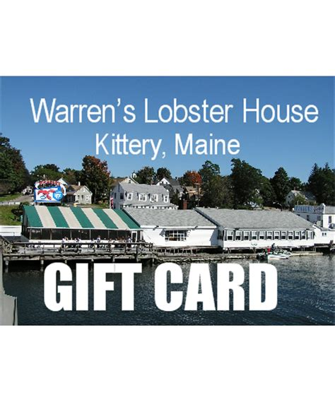 warrens lobster house gift cards warren s lobster house