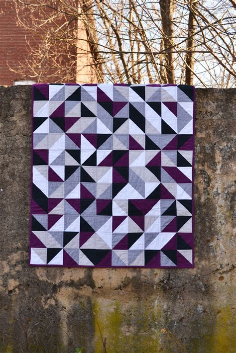 Purple Quilt by Purple Panda Quilts S Quilt Festival Purple And