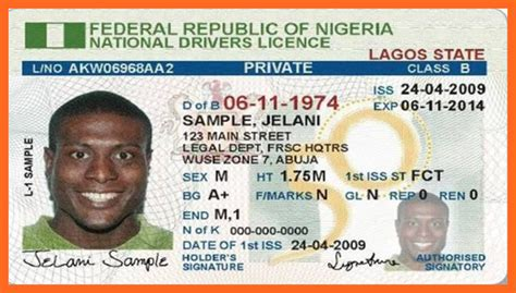 Background Check Using Drivers License Number List Of Nigeria Official Recognized National Id Cards