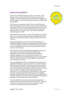 Employee Engagement Research Paper Case Study 71 Employee Involvement Cases