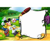 Mickey Mouse And Duck Kids Transparent PNG Photo Frame