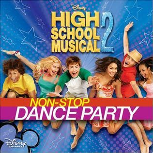 high school musical 2 high school musical 2 non stop dance party wikipedia