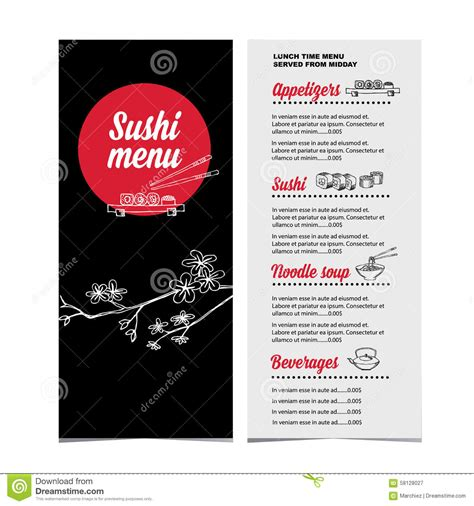 restaurant flyer design vector restaurant cafe menu template design vector illustration