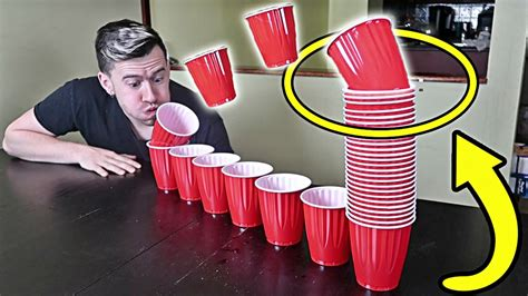 challenge impossible impossible cup blowing challenge