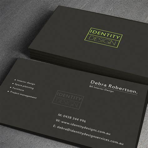 best business cards australia modern conservative business card design for debra