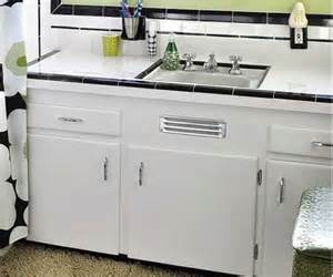 To buy a metal vent grille for a sink base cabinet retro renovation