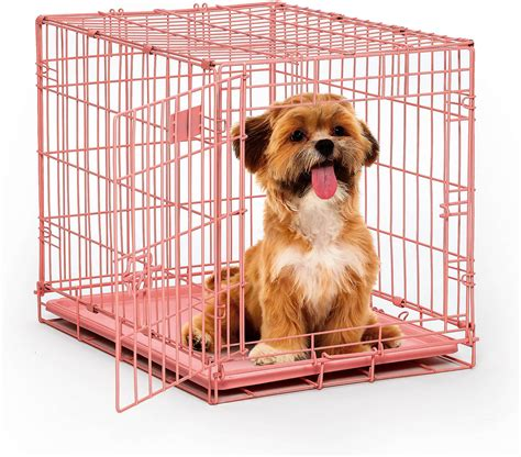 chewy crates midwest icrate single door crate pink 24 in chewy