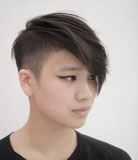 flattering hairstyles for withnnice hair 15 short undercut hairstyles messy pixie cuts messy