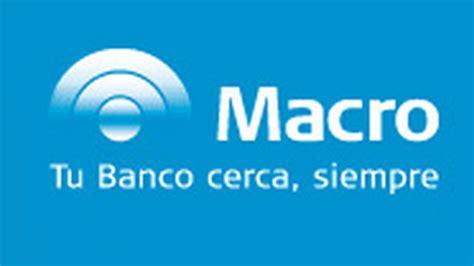 banco macro banco macro seonegativo
