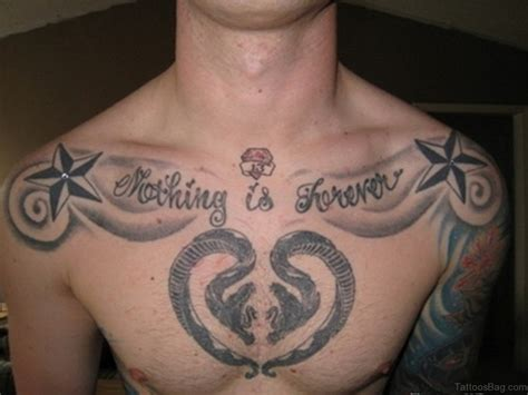 men chest tattoo designs 75 appealing chest tattoos for