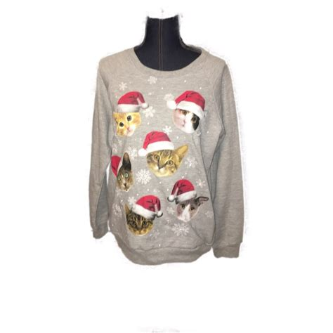 light up cat sweater light up cat sweater vinted com