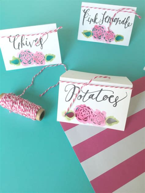 diy name cards pretty pink peony diy name cards perfect for a dinner party