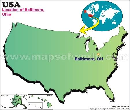 baltimore location in usa map where is baltimore located in ohio usa