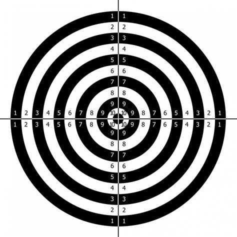 Free Printable Targets For Shooting Practice