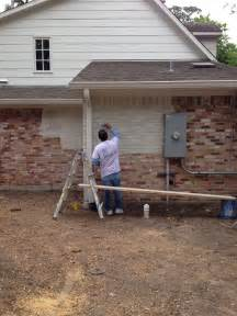 How To Paint Exterior Brick Wall - a limewashed facelift for my exterior segreto secrets
