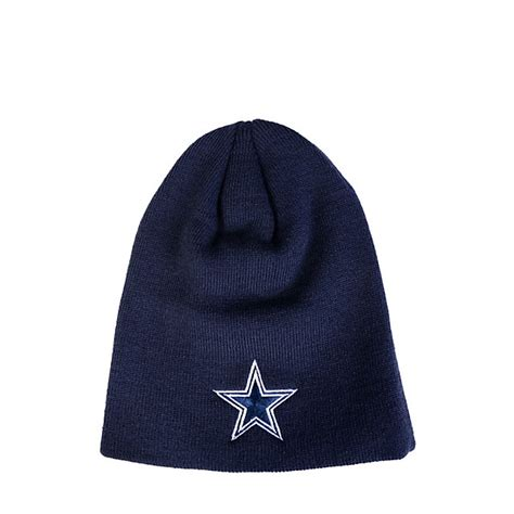 dallas cowboys knit hat dallas cowboys basic cuffless knit hat featured
