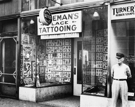 family tattoo parlor the forefathers of tattooing cap coleman paul rogers