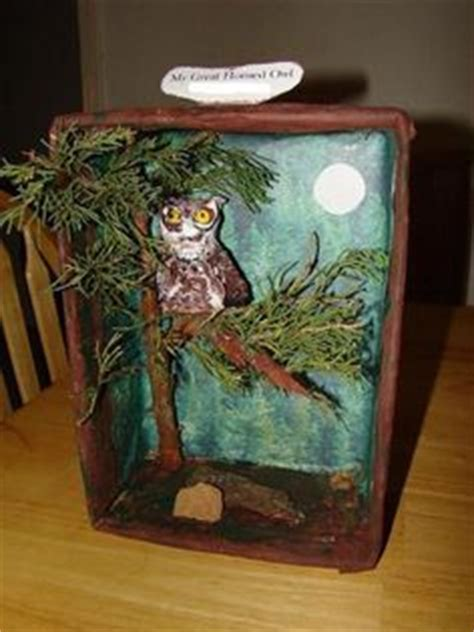 Papermau Barn Owl Miniature Paper - 1000 images about great horned owl diorama on