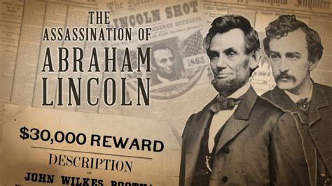 abraham lincoln assassinated the assassination of abraham lincoln american experience