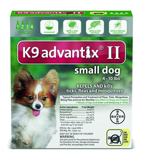 dogs 10 pounds k 9 advantix flea tick mosquito treatment for dogs puppies flea tick