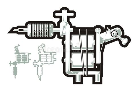 tattoo machine vector download tattoo machine stock vector image of tattoo steel