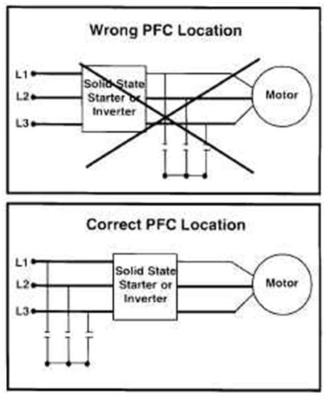 how to install power factor capacitor installing power factor correction capacitors